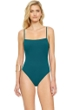 Gottex Au Naturel Teal Underwire One Piece Swimsuit