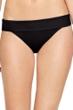 Gottex Au Naturel Black Folded Bikini Bottom