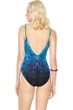 Gottex Emerald Isle V-Neck One Piece Swimsuit