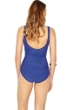 Gottex Essence Sapphire Square Neck High Back One Piece Swimsuit