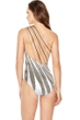 Gottex Golden Sand One Shoulder Strappy Back One Piece Swimsuit