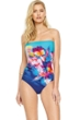 Gottex Hawaii Bandeau One Piece Swimsuit