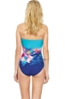 Gottex Hawaii Bandeau One Piece Swimsuit