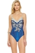 Gottex Imperial V-Neck One Piece Swimsuit