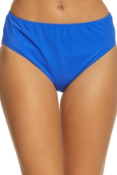 Gottex Lattice Royal Blue High Leg High Waist Bottom