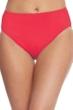Gottex Lattice Red High Leg High Waist Bottom