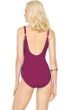 Gottex Landscape Cranberry Surplice One Piece Swimsuit