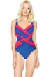 Gottex Radiance Sunset Square Neck One Piece Swimsuit