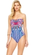 Gottex Sarasana Bandeau One Piece Swimsuit