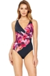 Gottex Sangria Surplice One Piece Swimsuit