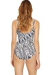 Full Coverage Gottex Essentials Star Leopard Square Neck One Piece Swimsuit