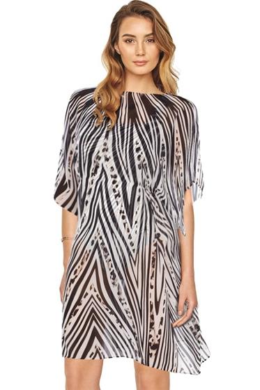 Gottex Star Leopard Beach Dress