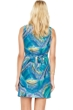 Gottex Tourmaline Silk Dress