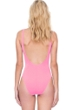 Gottex Au Naturel Coral Scoop Neck High Leg Underwire One Piece Swimsuit