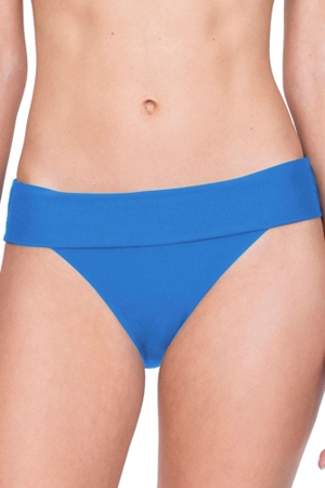 Gottex Au Naturel Dusk Blue Folded Hipster Bikini Bottom