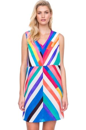Gottex Carnival Silk Beach Dress