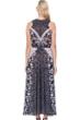 Gottex Camellia Black and White Maxi Dress