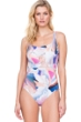 Gottex Dusk to Dawn Square Neck One Piece Swimsuit