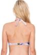 Gottex Dusk to Dawn Tie Front Halter Underwire Bikini Top