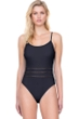 Gottex Finesse Black Lingerie One Piece Swimsuit