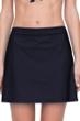Gottex Finesse Black Cover Up Side Slit Skirt