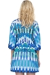 Gottex Highline Blue V-Neck Beach Dress