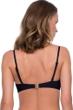 Gottex Jazz Black Textured Push Up Underwire Bikini Top