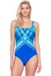 Gottex Mystic Gem Square Neck One Piece Swimsuit