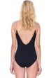 Gottex Prism Black and White V-Neck Lingerie One Piece Swimsuit