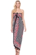 Gottex Retro Chic Full Length Silk Pareo One Size