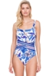 Gottex Sakura Square Neck One Piece Swimsuit