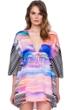 Gottex Utopia V-Neck Beach Dress