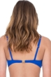 Gottex Vista Blue Surplice Underwire D-Cup Bikini Top