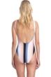 Gottex Collection Alba Square Neck High Leg Underwire One Piece Swimsuit