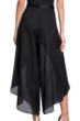 Gottex Collection Bardot Black Cover Up Surplice Pants