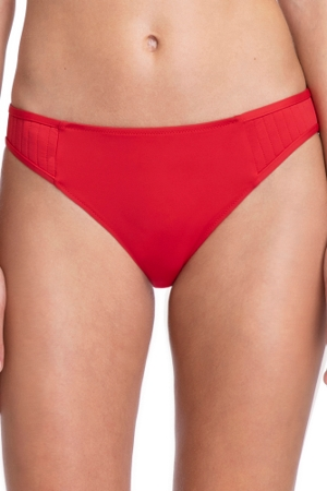 Gottex Collection Bardot Red Mid Rise Hipster Bikini Bottom