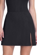 Gottex Essentials Cosmos Black Cover Up Side Slit Skirt