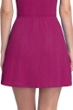 Gottex Essentials Cosmos Cherry Textured Cover Up Side Slit Skirt