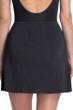 Gottex Essentials Deep Dive Black Cover Up Side Slit Skirt