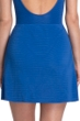 Gottex Essentials Deep Dive Blue Cover Up Side Slit Skirt