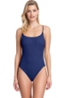 Gottex Collection Elle Navy Scoop Neck Underwire One Piece Swimsuit