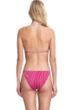 Gottex Collection Palla Raspberry Triangle Bikini Top with Matching Bikini Bottom