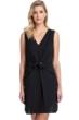 Gottex Collection Vogue Black V-Neck Cover Up Dress