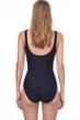 Gottex Essentials Aphrodite Black Full Coverage Surplice One Piece Swimsuit