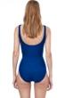 Gottex Essentials Aphrodite Deep Sea Full Coverage Square Neck One Piece Swimsuit