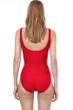 Gottex Essentials Aphrodite Full Coverage Square Neck One Piece Swimsuit