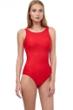 Gottex Essentials Aphrodite Red Mastectomy High Neck One Piece Swimsuit