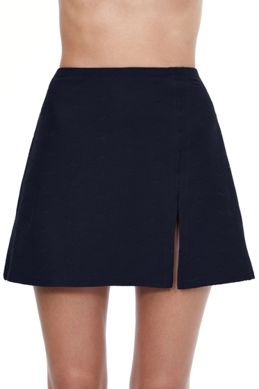 Gottex Essentials Aphrodite Black Side Slit Cover Up Skirt