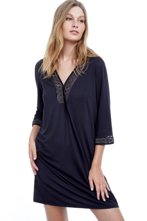 Gottex Burlesque V-Neck Cover Up Dress
