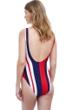 Gottex Collection Chic Nautique Round Neck One Piece Swimsuit